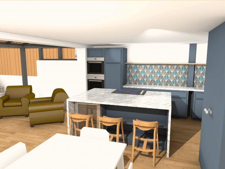 bridestowe, house refurb & spatial planning